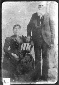 Ben Leaton and Juana Pedraza