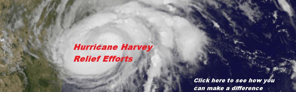 Help in the Hurricane Harvey relief efforts