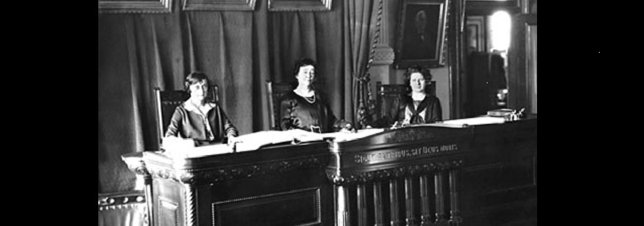 Our Proud History, Texas' All-Women Supreme Court (1925)