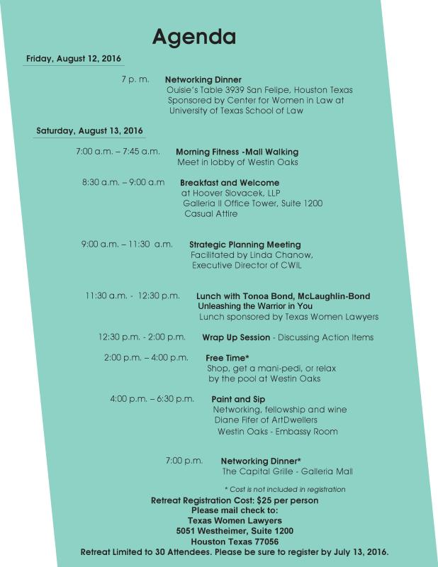 TWL-Retreat-2016-Agenda