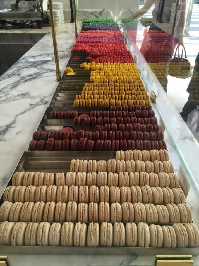 Macaroons from Bottega Louie in downtown LA.
