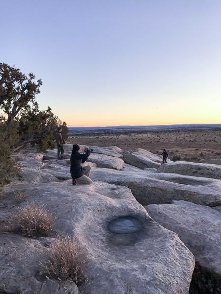 Catching the sunset in Northern AZ.