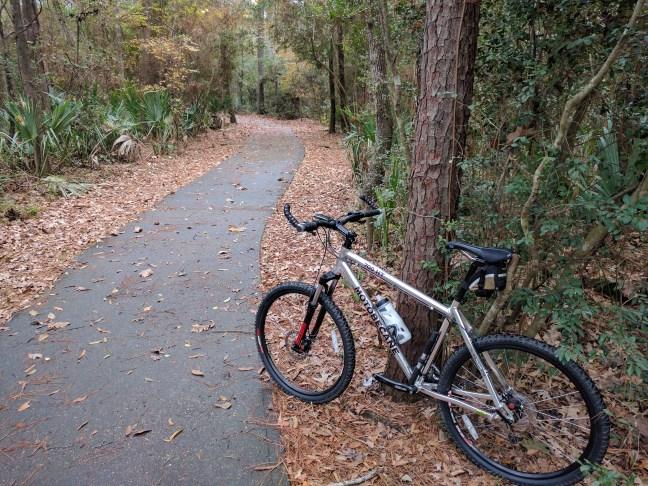 Kingwood Greenbelt Trail Near Park & Ride Lot