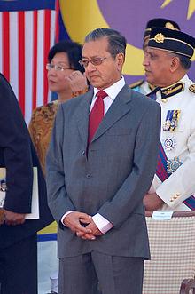 Prime Minister Mahatir