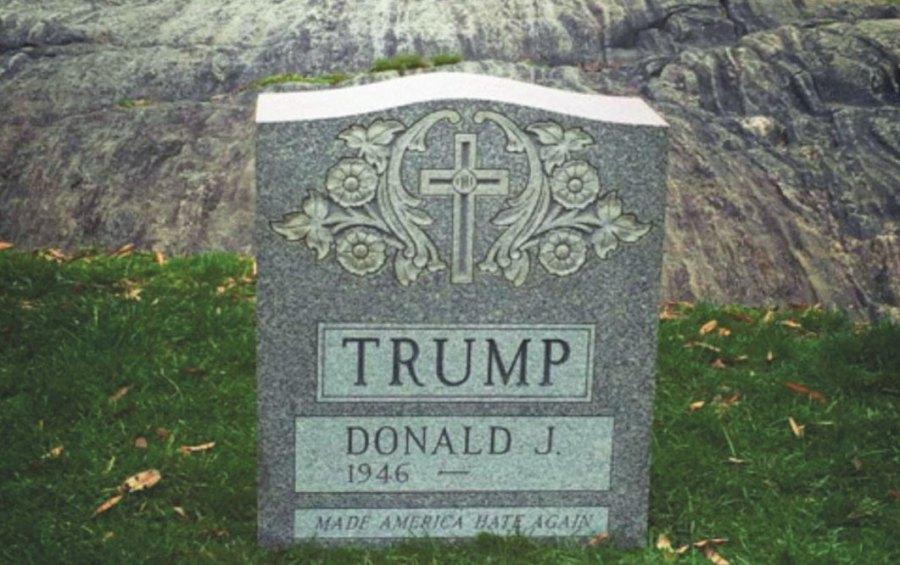 Trump Tombstone