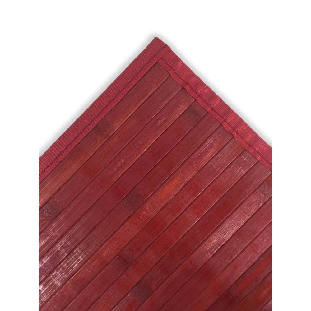 tapis de cuisine en bois de bambou royaume uni bourgogne rouge toutes les tailles