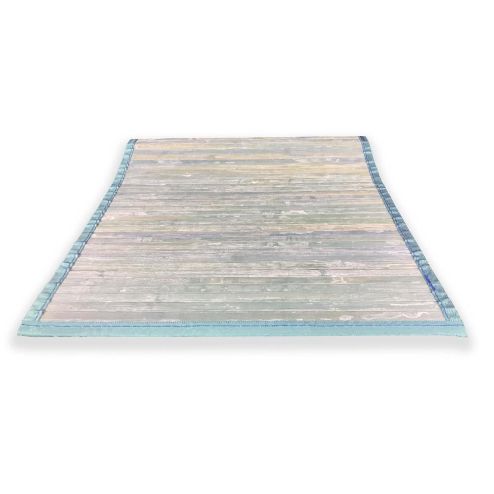 tapis vintage en bois avec un effet antique mais vraiment moderne