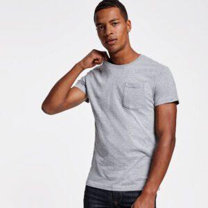 T-shirt uomo con taschino