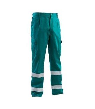 Pantalone con bande catarifrangenti