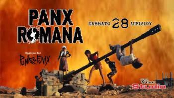 Οι Panx Romana ζωντανά στο Cine Studio το Σάββατο 28 Απριλίου