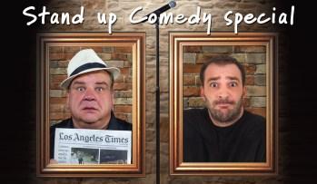 Stand Up Comedy Special: Γιώργος Χατζηπαύλου & Angelo Tsarouchas, το Σάββατο 3 Νοεμβρίου στο Cine Studio