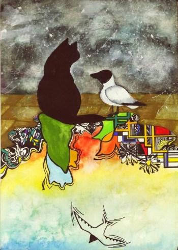 Παιδικό θέατρο: Ο Γάτος που Έμαθε σε έναν Γλάρο να Πετά από το Όμμα Στούντιο, την Κυριακή 26 Ιανουαρίου στο Τεχνόπολις