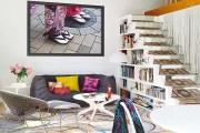 Πολύχρωμο Διαμέρισμα γεμάτο  ενέργεια και καλό γούστο στη Βαρκελώνη