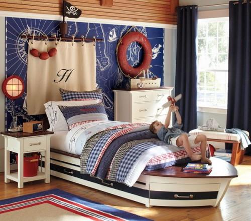 5 Ναυτικά Υπνοδωμάτια για αγόρια που θα σας εμπνεύσουν