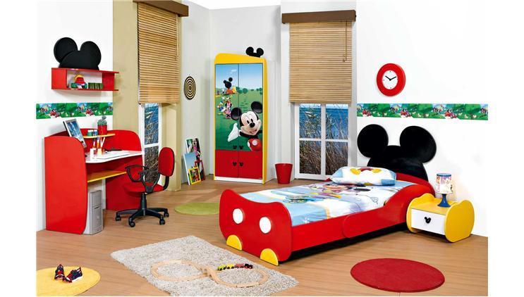 Μίκυ Μάους θέματα για παιδικό υπνοδωμάτιο