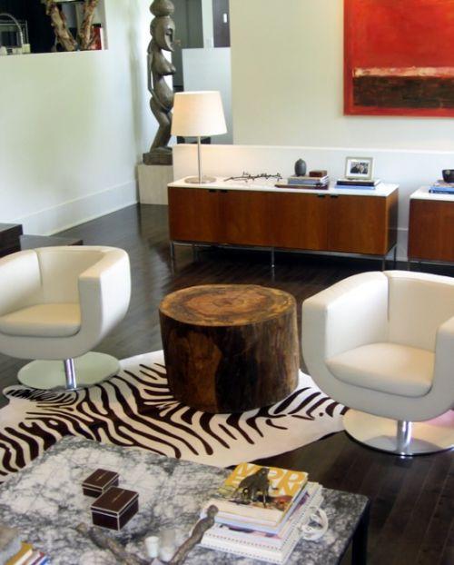 Ρουστίκ έπιπλα από ξύλο για το σαλόνι σας