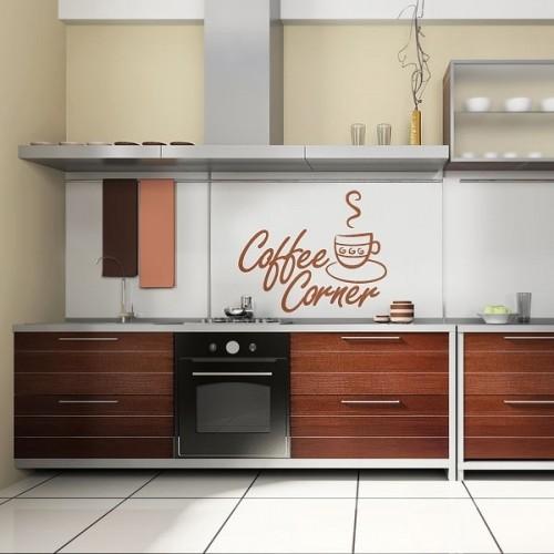 Διακοσμητικές ιδέες τοίχου για τους λάτρεις του καφέ