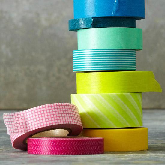 Φανταστικές ιδέες διακόσμησης με αυτοκόλλητες χάρτινες ταινίες