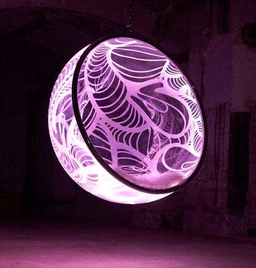 Καταπληκτικές πολυθρώνες φούσκες με Led φωτεισμό