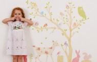 Όμορφα αυτοκόλλητα τοίχου για τα παιδιά
