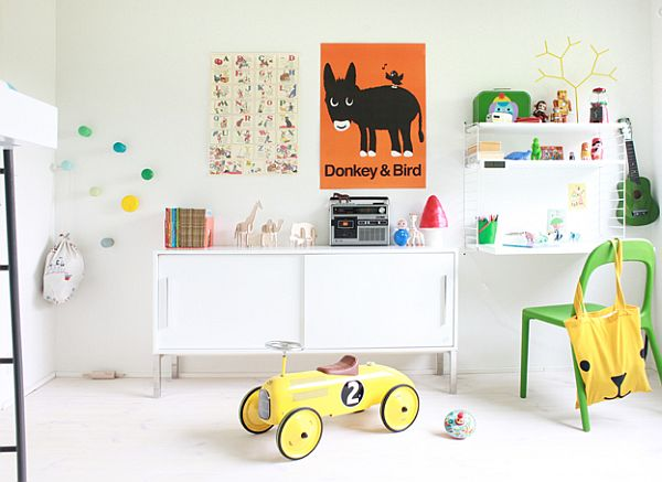 Διασκεδαστικό και δημιουργικό δωμάτιο για τους μικρούς μας φίλους