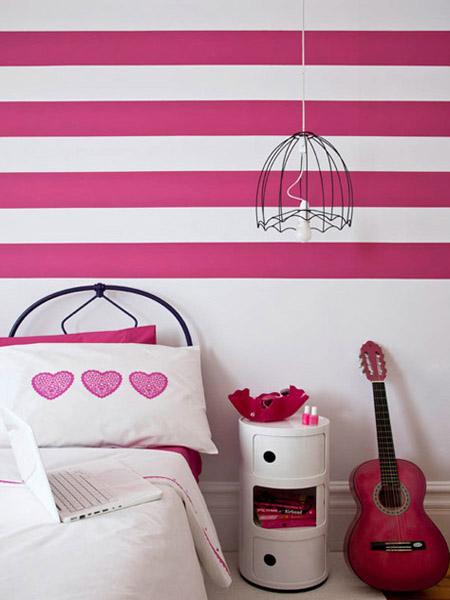 Οριζόντιες ρίγες στους τοίχους, 15 μοντέρνες διακοσμητικές και χρωματικές Ιδέες