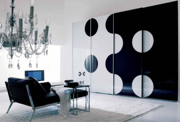 Ιδέες σε Μαύρο και Άσπρο  για εσωτερική διακόσμηση