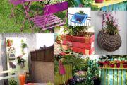 Καταπληκτικές ιδέες σχεδιασμού για μικρά μπαλκόνια