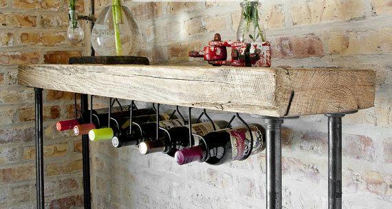 Diy κατασκευές με ράφια για κρασιά8