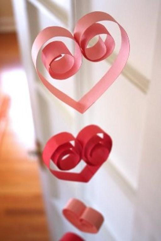 Διακόσμηση Αγίου Βαλεντίνου καρδιές2