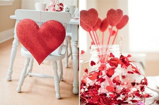 Διακόσμηση Αγίου Βαλεντίνου καρδιές5