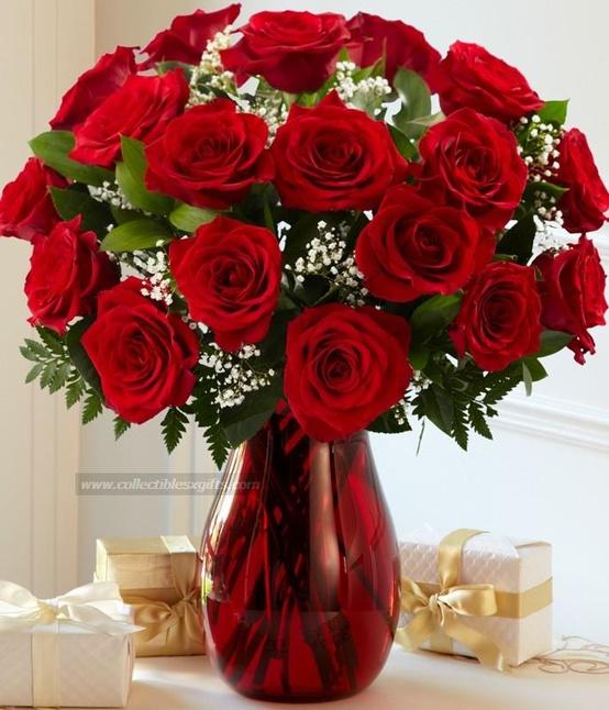 Διακόσμηση Αγίου Βαλεντίνου λουλουδια2