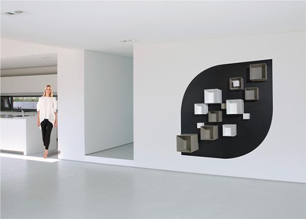 Μαγνητικός τοίχος με ράφια: Μια δημιουργική ιδέα προκλήση για την φαντασία σας
