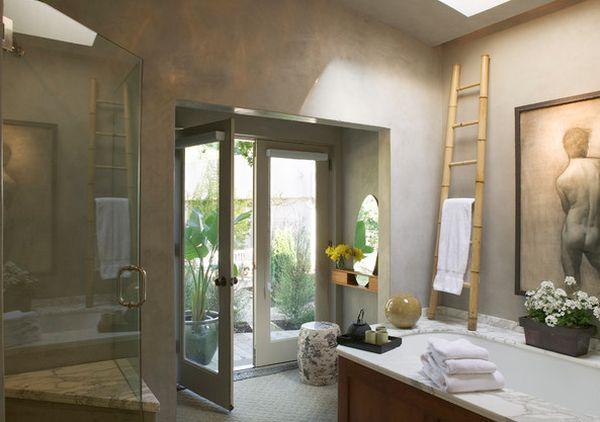 ιδέες για να οργανώσετε και να εκθέσετε τις πετσέτες στο μπάνιο σας12