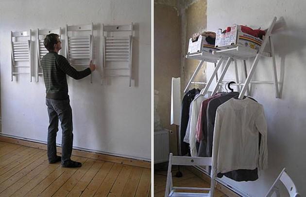 DIY ιδέες αποθήκευσης ρούχων12