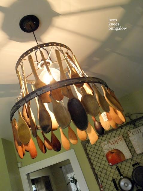 DIY Ξύλινές διακοσμητικές Χειροτεχνίες με Κουτάλια15