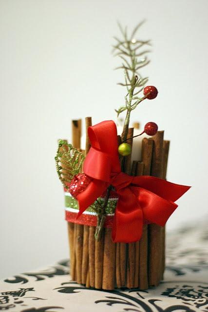 Υπέροχες Αρωματικές Ιδέες Χριστουγεννιάτικής Διακόσμησης με ραβδάκια κανέλας20