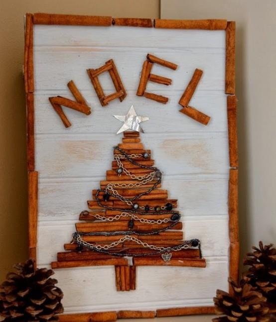 Υπέροχες Αρωματικές Ιδέες Χριστουγεννιάτικής Διακόσμησης με ραβδάκια κανέλας28