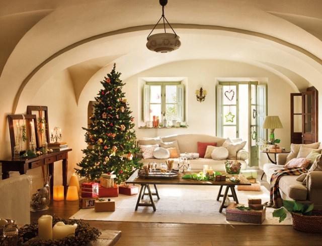 Χριστουγεννιάτικη ατμόσφαιρα σε ένα  παραμυθένιο σπίτι3