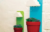 Χαριτωμένες Rainy Γλάστρες Τοίχου που σας Κρατάνε τα Φυτά του εσωτερικού σας χώρου ζωντανά
