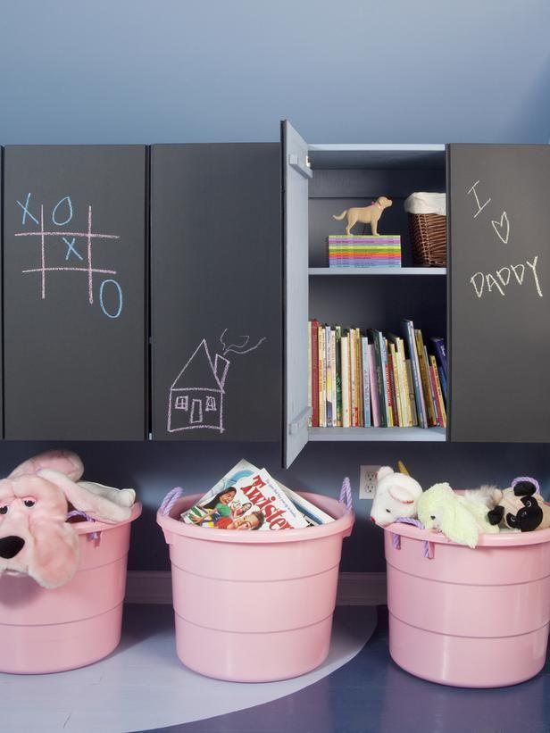 Ιδέες με Χρώμα μαυροπίνακα για παιδικό δωμάτιο16
