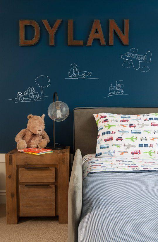 Ιδέες με Χρώμα μαυροπίνακα για παιδικό δωμάτιο19
