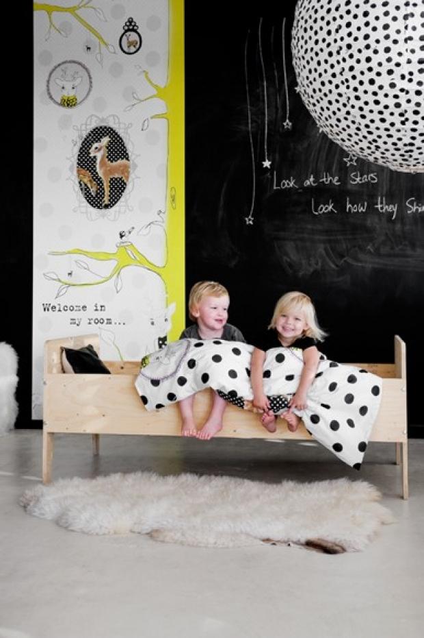 Ιδέες με Χρώμα μαυροπίνακα για παιδικό δωμάτιο26