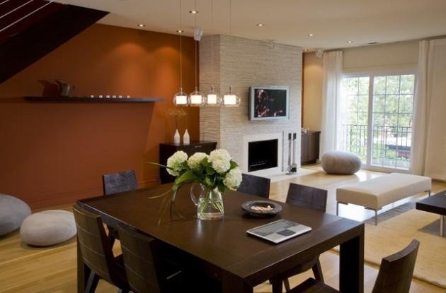 ιδέες  σχεδιασμού για να τονίσετε ένα τοίχο στο σαλόνι σας15