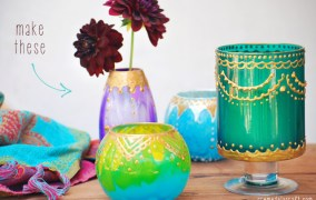 Εκπληκτικά DIY Μαροκινά Κηροπήγια