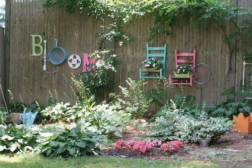 25 Απίστευτες DIY WallArt Ιδέες για τον φράχτη του Κήπου σας