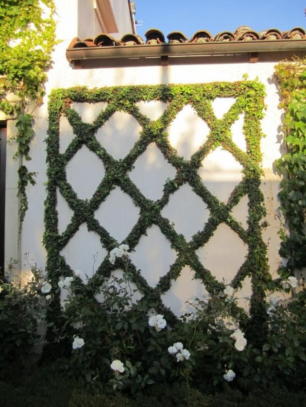 DIY WallArt Ιδέες για τον φράχτη του Κήπου σας20