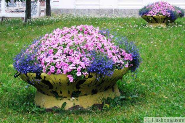 ασυνήθιστα δοχεία και γλάστρες για λουλούδια5