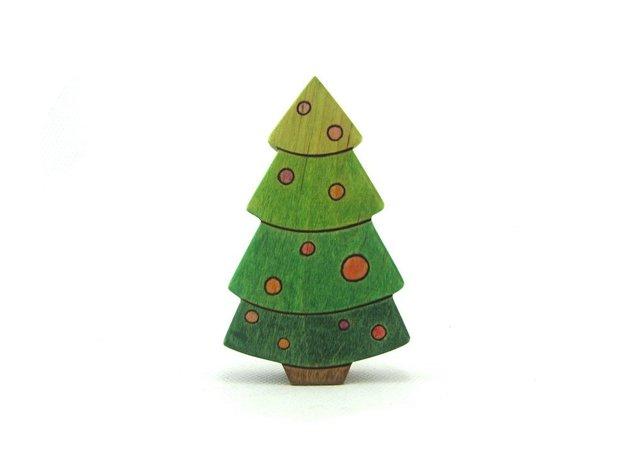 Επιτραπέζια χριστουγεννιάτικα δέντρα12