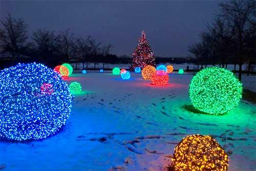 Diy Χριστουγεννιάτικες Φωτό Μπάλες11